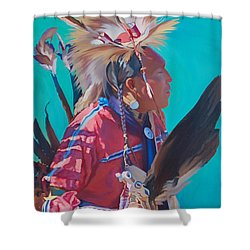 Spirit Of The Dance Shower Curtain