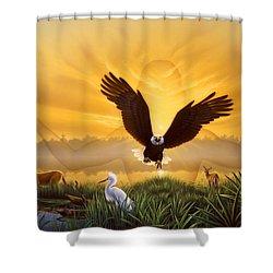 Spirit Of The Everglades Shower Curtain