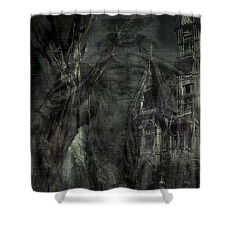 Spirit Of The Inquisitor Shower Curtain by Dan Stone