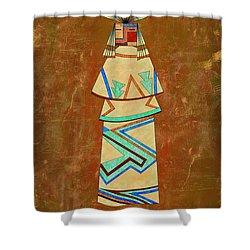 Spirit Of The Sand Shower Curtain