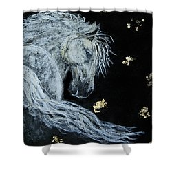 Spirit Of Wonder Shower Curtain by The Art With A Heart By Charlotte Phillips
