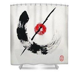 Spirit Of Zen Shower Curtain