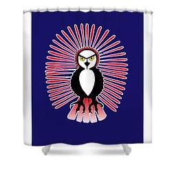 Spirit Owl 1 Shower Curtain
