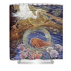 Spirit Rising Shower Curtain