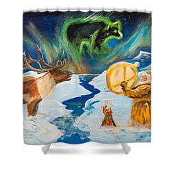 Spirits Call Shower Curtain