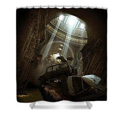 Spiritual Archives II Shower Curtain