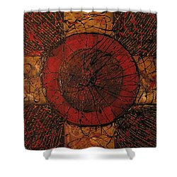 Spiritual Movement Shower Curtain