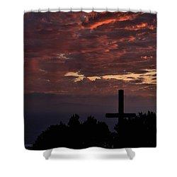 Shower Curtain featuring the photograph Spiritual Retreat by Michael Gordon