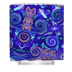 Spiritual Waters Shower Curtain