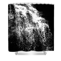 Splash Bushkill Falls Shower Curtain by Janine Riley