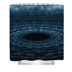 Splash Shower Curtain by GJ Blackman