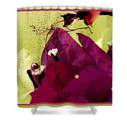 Splash Of Beauty Shower Curtain