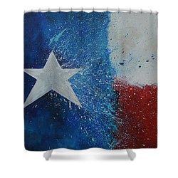 Splash Of Texas Shower Curtain