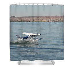 Splashdown Shower Curtain