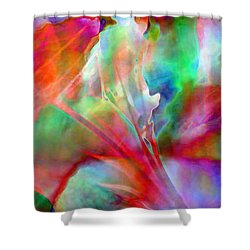 Splendor - Abstract Art Shower Curtain by Jaison Cianelli