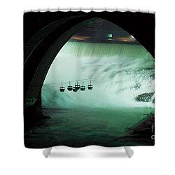 Spokane Falls Shower Curtain