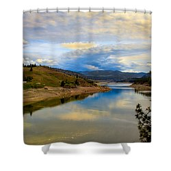 Spokane River Shower Curtain