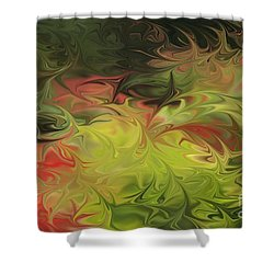 Jardin De Picasso  Shower Curtain