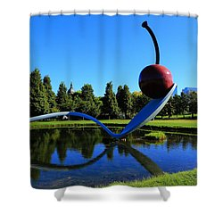 Spoonbridge And Cherry 3 Shower Curtain