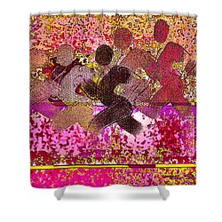 Sport B 4 B Shower Curtain by Theo Danella