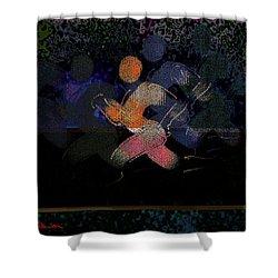 Sport B 7 B Shower Curtain by Theo Danella