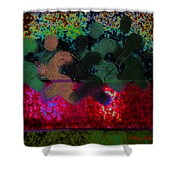 Sport B 7 C Shower Curtain by Theo Danella