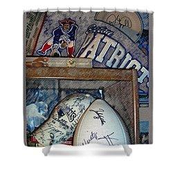 Sports Fan Shower Curtain by Jack Gannon