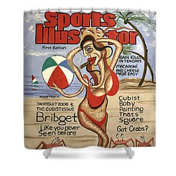 Sports Illustrator Swimsuit Edition Shower Curtain by Anthony Falbo