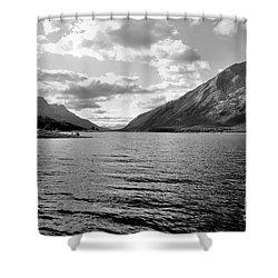 Spray Lake Shower Curtain