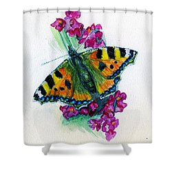 Spreading Wings Of Colour Shower Curtain