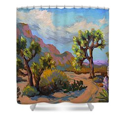 Spring At Joshua Shower Curtain