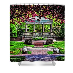 Spring At Lynch Park Shower Curtain