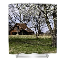 Shower Curtain featuring the photograph Spring At The Farm In Tyler Tx by Betty Denise
