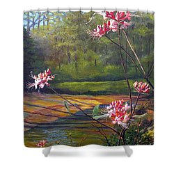 Spring Blooms On The Natchez Trace Shower Curtain by Jeanette Jarmon