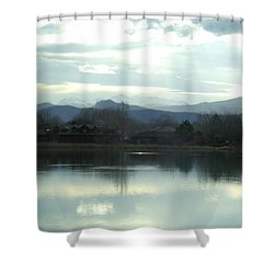 Spring Chill Shower Curtain