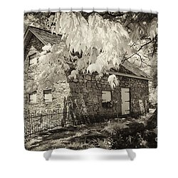 Spring Creek Mill Shower Curtain by Paul W Faust -  Impressions of Light