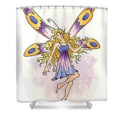 Spring Fairy Shower Curtain