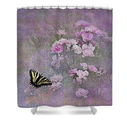 Spring Garden Shower Curtain by Diane Schuster