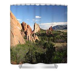Spring Garden Shower Curtain by Eric Glaser