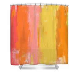 Spring Garden Shower Curtain by Lourry Legarde