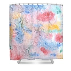Spring Garden Shower Curtain by Susan  Dimitrakopoulos