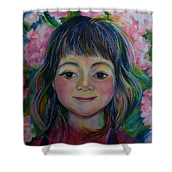 Spring Girls. Part One Shower Curtain by Anna  Duyunova