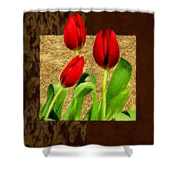Spring Hues Shower Curtain by Lourry Legarde