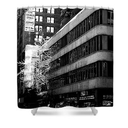 Spring In Manhattan Shower Curtain by James Aiken