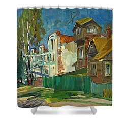 Spring In The Province Shower Curtain