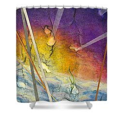 Spring Is Sprung Shower Curtain