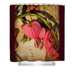 Spring Love Shower Curtain by Chris Berry