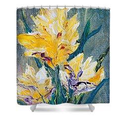Spring Love Shower Curtain by Teresa Wegrzyn