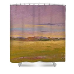 Spring Morning In Carolina Shower Curtain