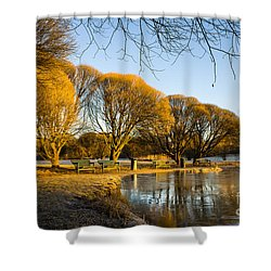 Spring Morning In The Park Shower Curtain
